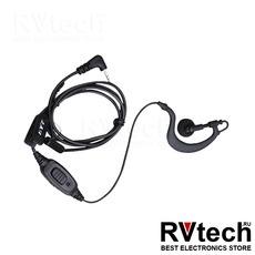 EHS09 - Гарнитура однопроводная со встроенным микрофоном и PTT, с VOX, Купить EHS09 - Гарнитура однопроводная со встроенным микрофоном и PTT, с VOX в магазине РадиоВидео.рф, Гарнитуры для рации