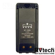 Аккумулятор  BP-1600L для Vega-304, Купить Аккумулятор  BP-1600L для Vega-304 в магазине РадиоВидео.рф, Vector