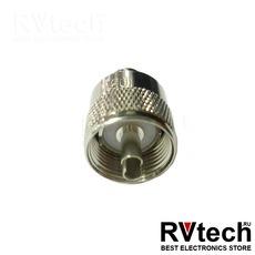 Optim Разъем PL259-213 для подключения антенны, Купить Optim Разъем PL259-213 для подключения антенны в магазине РадиоВидео.рф, Кабель и разъемы