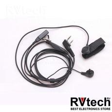 Гарнитура EMC 6 Kenwood (2 проводная ), Купить Гарнитура EMC 6 Kenwood (2 проводная ) в магазине РадиоВидео.рф, Kenwood