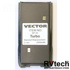Аккумулятор  BP-44 TURBO для рации Vector VT-44 Turbo, Купить Аккумулятор  BP-44 TURBO для рации Vector VT-44 Turbo в магазине РадиоВидео.рф, Vector
