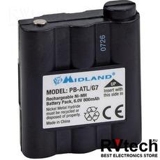 Аккумулятор PB-ATL/G7 (BATT-5R) для Midland GXT1050, GXT1000, GXT650, GXT500, GXT900, GXT850, Купить Аккумулятор PB-ATL/G7 (BATT-5R) для Midland GXT1050, GXT1000, GXT650, GXT500, GXT900, GXT850 в магазине РадиоВидео.рф, Midland