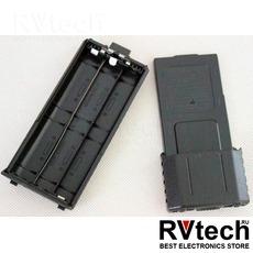 Аккумуляторный отсек Baofeng BC-UV5R увеличенный, Купить Аккумуляторный отсек Baofeng BC-UV5R увеличенный в магазине РадиоВидео.рф, Baofeng
