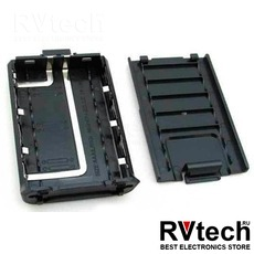 Аккумуляторный отсек Baofeng BC-UV5R, Купить Аккумуляторный отсек Baofeng BC-UV5R в магазине РадиоВидео.рф, Baofeng