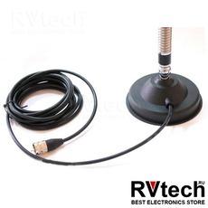 Антенна автомобильная LUITON CB-2701 27 мГц (магнит), Купить Антенна автомобильная LUITON CB-2701 27 мГц (магнит) в магазине РадиоВидео.рф, Luiton