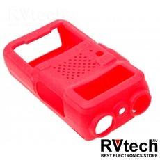 Чехол для рации Baofeng UV-5R красный, Купить Чехол для рации Baofeng UV-5R красный в магазине РадиоВидео.рф, Baofeng