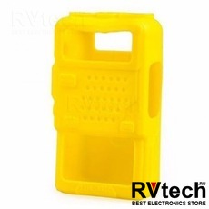 Чехол для рации Baofeng UV-5R желтый, Купить Чехол для рации Baofeng UV-5R желтый в магазине РадиоВидео.рф, Baofeng