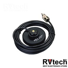 Магнитное основание Anli MC-1-NMO  - кронштейн для крепления автомобильных антенн, Купить Магнитное основание Anli MC-1-NMO  - кронштейн для крепления автомобильных антенн в магазине РадиоВидео.рф, Крепления для антенн