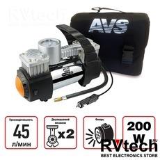 Компрессор автомобильный AVS KE450L, Купить Компрессор автомобильный AVS KE450L в магазине РадиоВидео.рф, Компрессоры и манометры