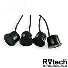 Датчик парктроника 2.5 м (черный) 18мм AVS PS-18, Купить Датчик парктроника 2.5 м (черный) 18мм AVS PS-18 в магазине РадиоВидео.рф, Автоэлектроника