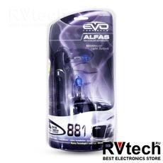"""Газонаполненные лампы EVO """"Alfas"""" +130% / 4300K / H27 (881) комплект 2 шт, Купить Газонаполненные лампы EVO """"Alfas"""" +130% / 4300K / H27 (881) комплект 2 шт в магазине РадиоВидео.рф, EVO """"Alfas"""""""