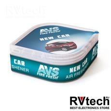 Ароматизатор AVS LGC-005 Fresh Box (аром. Новая машина/New car) (гелевый), Купить Ароматизатор AVS LGC-005 Fresh Box (аром. Новая машина/New car) (гелевый) в магазине РадиоВидео.рф, Ароматизаторы