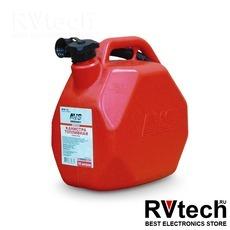 Канистра топливная пластик.10л.(красная) AVS MTK-10, Купить Канистра топливная пластик.10л.(красная) AVS MTK-10 в магазине РадиоВидео.рф, Аварийные принадлежности