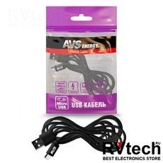 Кабель AVS micro USB (3м) MR-33, Купить Кабель AVS micro USB (3м) MR-33 в магазине РадиоВидео.рф, Автоэлектроника