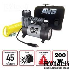 Компрессор автомобильный AVS KS450L, Купить Компрессор автомобильный AVS KS450L в магазине РадиоВидео.рф, Компрессоры и манометры