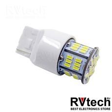 T20 T113B /белый/(W3*16D) 54SMD 3014, 2 contact, коробка 2 шт., Купить T20 T113B /белый/(W3*16D) 54SMD 3014, 2 contact, коробка 2 шт. в магазине РадиоВидео.рф, Светодиодная лампа
