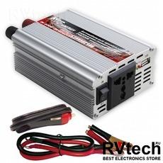Автомобильный инвертор 24/220V AVS IN-600W-24, Купить Автомобильный инвертор 24/220V AVS IN-600W-24 в магазине РадиоВидео.рф, Преобразователи напряжения
