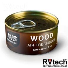 Ароматизатор AVS WC-020 Natural Fresh (аром. Wood - Сосновый лес/Wood) (древесный), Купить Ароматизатор AVS WC-020 Natural Fresh (аром. Wood - Сосновый лес/Wood) (древесный) в магазине РадиоВидео.рф, Ароматизаторы
