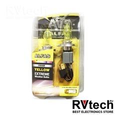 """Газонаполненные лампы AVS """"Alfas"""" """"Максимальная освещённость"""" жёлтый 2800К H4, комплект 2 шт., Купить Газонаполненные лампы AVS """"Alfas"""" """"Максимальная освещённость"""" жёлтый 2800К H4, комплект 2 шт. в магазине РадиоВидео.рф, AVS """"Alfas"""""""