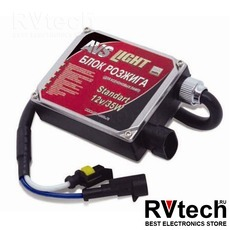 Блок розжига AVS (Standart AC) 12V/35W LL-06A разъём KET, 1 шт., Купить Блок розжига AVS (Standart AC) 12V/35W LL-06A разъём KET, 1 шт. в магазине РадиоВидео.рф, Блок розжига