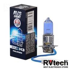 Лампа галогенная AVS ATLAS BOX /5000К/ H3.24V.70W (1 шт.), Купить Лампа галогенная AVS ATLAS BOX /5000К/ H3.24V.70W (1 шт.) в магазине РадиоВидео.рф, AVS ATLAS BOX