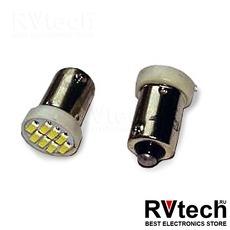 T8 В039 /белый/ (BA9S) 8SMD 3014, блистер, 2 шт, Купить T8 В039 /белый/ (BA9S) 8SMD 3014, блистер, 2 шт в магазине РадиоВидео.рф, Светодиодная лампа