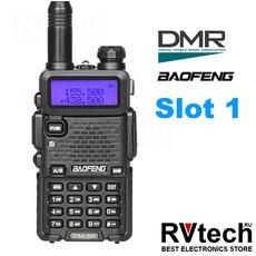 Рация Baofeng DM-5R (Slot 1) Dual Band 2018 (Прошивка, как у Плюс версии ), Купить Рация Baofeng DM-5R (Slot 1) Dual Band 2018 (Прошивка, как у Плюс версии ) в магазине РадиоВидео.рф, Рации Baofeng Китай