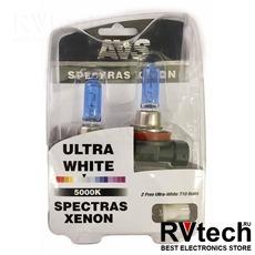 """Газонаполненные лампы AVS """"Spectras"""" 5000K H11 комплект 2+2 (T-10) шт., Купить Газонаполненные лампы AVS """"Spectras"""" 5000K H11 комплект 2+2 (T-10) шт. в магазине РадиоВидео.рф, AVS """"Spectras"""""""