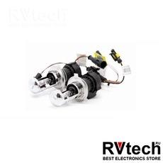 Лампы би-ксенон H4 (4300K) (2 шт.) AVS + комплект проводов KET, Купить Лампы би-ксенон H4 (4300K) (2 шт.) AVS + комплект проводов KET в магазине РадиоВидео.рф, Би-ксенон