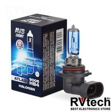 Лампа галогенная AVS ATLAS BOX /5000К/ HB4/9006.12V.55W (1 шт.), Купить Лампа галогенная AVS ATLAS BOX /5000К/ HB4/9006.12V.55W (1 шт.) в магазине РадиоВидео.рф, AVS ATLAS BOX