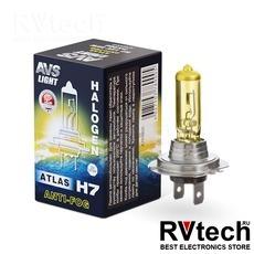 Лампа галогенная AVS ATLAS ANTI-FOG / BOX желтый H7.12V.55W (1 шт.), Купить Лампа галогенная AVS ATLAS ANTI-FOG / BOX желтый H7.12V.55W (1 шт.) в магазине РадиоВидео.рф, AVS ATLAS ANTI-FOG