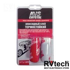 Клей эпоксидный (термостойкий) 80 г AVS AVK-128, Купить Клей эпоксидный (термостойкий) 80 г AVS AVK-128 в магазине РадиоВидео.рф, Автохимия и косметика