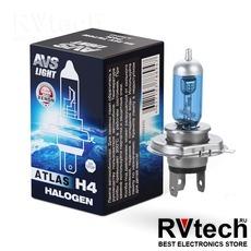 Лампа галогенная AVS ATLAS BOX /5000К/ H4.24V.75/70W (1 шт.), Купить Лампа галогенная AVS ATLAS BOX /5000К/ H4.24V.75/70W (1 шт.) в магазине РадиоВидео.рф, AVS ATLAS BOX