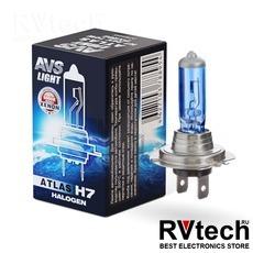 Лампа галогенная AVS ATLAS BOX /5000К/ H7.24V.70W (1 шт.), Купить Лампа галогенная AVS ATLAS BOX /5000К/ H7.24V.70W (1 шт.) в магазине РадиоВидео.рф, AVS ATLAS BOX