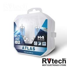 Лампа галогенная AVS ATLAS PB /5000К/ H4.12V.60/55W Plastic box -2 шт., Купить Лампа галогенная AVS ATLAS PB /5000К/ H4.12V.60/55W Plastic box -2 шт. в магазине РадиоВидео.рф, AVS ATLAS PB