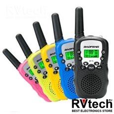 Рация Baofeng BF-T3 UHF blue ( комплект из 2ух), Купить Рация Baofeng BF-T3 UHF blue ( комплект из 2ух) в магазине РадиоВидео.рф, Рации Baofeng Китай