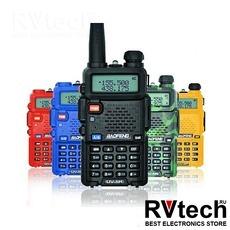 Рация Baofeng UV-5R (красная, желтая, синяя, зеленая), Купить Рация Baofeng UV-5R (красная, желтая, синяя, зеленая) в магазине РадиоВидео.рф, Рации Baofeng Китай