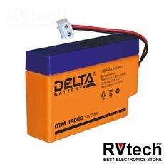 DELTA DTM 12008 - Аккумулятор для UPS. 12 V, 0,8 A, Купить DELTA DTM 12008 - Аккумулятор для UPS. 12 V, 0,8 A в магазине РадиоВидео.рф, Delta DTM