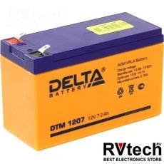 DELTA DTM 1207 - Аккумулятор для UPS. 12 V, 7,2 A, Купить DELTA DTM 1207 - Аккумулятор для UPS. 12 V, 7,2 A в магазине РадиоВидео.рф, Аккумулятор Delta DTM