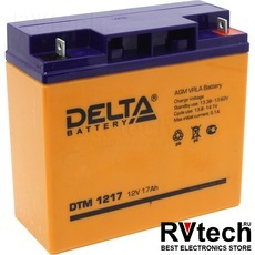 DELTA DTM 1217 - Аккумулятор для UPS. 12 V, 17 A, Купить DELTA DTM 1217 - Аккумулятор для UPS. 12 V, 17 A в магазине РадиоВидео.рф, Delta DTM