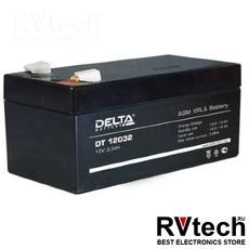 DELTA DT 12032 - Аккумулятор для UPS. 12 V, 3,3 A, Купить DELTA DT 12032 - Аккумулятор для UPS. 12 V, 3,3 A в магазине РадиоВидео.рф, Delta DT