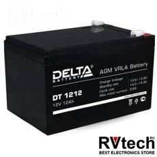 DELTA DT 1212 - Аккумулятор для UPS. 12 V, 12 A, Купить DELTA DT 1212 - Аккумулятор для UPS. 12 V, 12 A в магазине РадиоВидео.рф, Delta DT