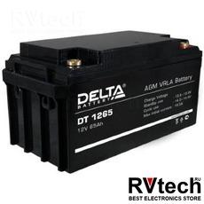 DELTA DT 1265 - Аккумулятор для UPS. 12 V, 65 A, Купить DELTA DT 1265 - Аккумулятор для UPS. 12 V, 65 A в магазине РадиоВидео.рф, Delta DT