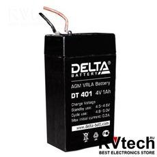 DELTA DT 401 - Аккумулятор для UPS. 4 V, 1 A, Купить DELTA DT 401 - Аккумулятор для UPS. 4 V, 1 A в магазине РадиоВидео.рф, Аккумулятор Delta DT