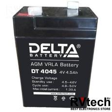 DELTA DT 4045 - Аккумулятор для UPS. 4 V, 4,5 A, Купить DELTA DT 4045 - Аккумулятор для UPS. 4 V, 4,5 A в магазине РадиоВидео.рф, Серия Delta DT
