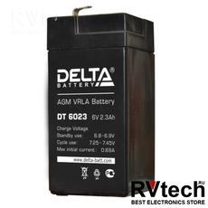DELTA DT 6023 - Аккумулятор для UPS. 6 V, 2,3 A, Купить DELTA DT 6023 - Аккумулятор для UPS. 6 V, 2,3 A в магазине РадиоВидео.рф, Серия Delta DT