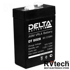 DELTA DT 6028 - Аккумулятор для UPS. 6 V, 2,8 A, Купить DELTA DT 6028 - Аккумулятор для UPS. 6 V, 2,8 A в магазине РадиоВидео.рф, Delta DT