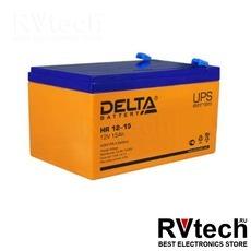 DELTA HR 12-15 - Аккумулятор для UPS. 12 V, 15 A, Купить DELTA HR 12-15 - Аккумулятор для UPS. 12 V, 15 A в магазине РадиоВидео.рф, Серия Delta HR