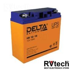 DELTA HR 12-18 - Аккумулятор для UPS. 12 V, 18 A, Купить DELTA HR 12-18 - Аккумулятор для UPS. 12 V, 18 A в магазине РадиоВидео.рф, Delta HR