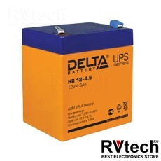 DELTA HR 12-4.5 - Аккумулятор для UPS. 12 V, 4,5 A, Купить DELTA HR 12-4.5 - Аккумулятор для UPS. 12 V, 4,5 A в магазине РадиоВидео.рф, Delta HR